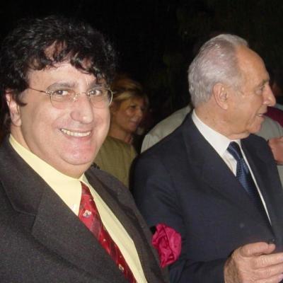 Didier BERTIN - Shimon Peres