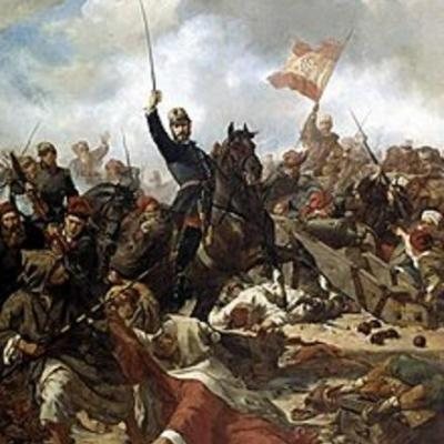 220px el general prim en la batalla de tetuan por francisco sans cabot 1